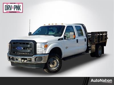 2015 F-350 Crew Cab DRW 4x4, Platform Body #FEA77064 - photo 1