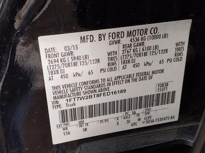 2015 Ford F-250 Crew Cab 4x4, Pickup #FED16189 - photo 23