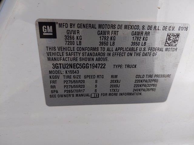 2016 GMC Sierra 1500 Crew Cab 4x4, Pickup #GG194722 - photo 23