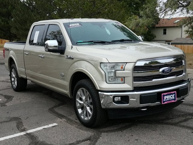 2017 F-150 SuperCrew Cab 4x4, Pickup #HFB12556 - photo 4