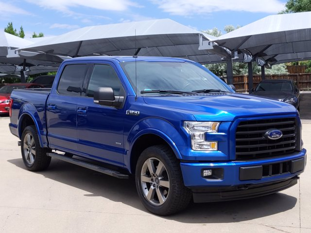 2017 Ford F-150 SuperCrew Cab 4x4, Pickup #HFB64765 - photo 4