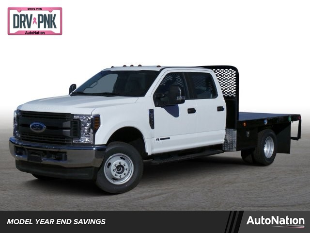 2018 F-350 Crew Cab DRW 4x4,  Scelzi Platform Body #JED05590 - photo 1