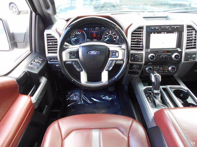 2018 Ford F-150 SuperCrew Cab 4x4, Pickup #JFB37073 - photo 11