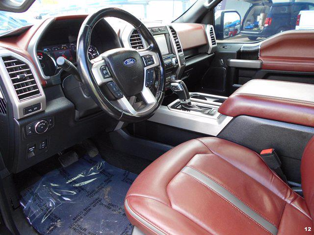 2018 Ford F-150 SuperCrew Cab 4x4, Pickup #JFB37073 - photo 12