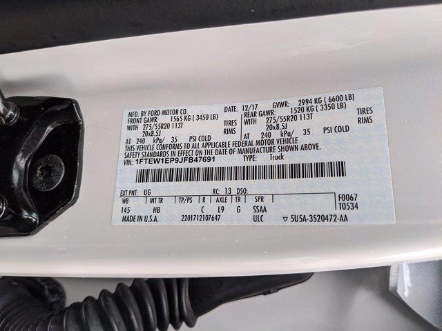 2018 Ford F-150 SuperCrew Cab 4x4, Pickup #JFB47691 - photo 25