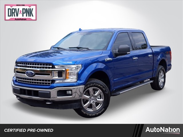 2018 Ford F-150 SuperCrew Cab 4x4, Pickup #JFB56136 - photo 1