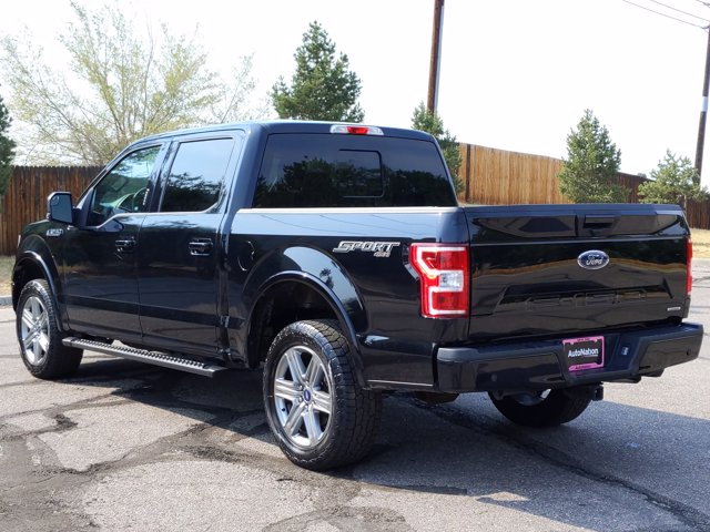 2018 Ford F-150 SuperCrew Cab 4x4, Pickup #JFE03424 - photo 2