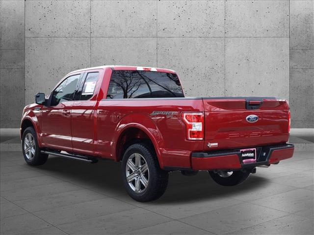 2018 Ford F-150 Super Cab 4x4, Pickup #JKD66017 - photo 1