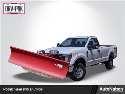 2019 Ford F-250 Regular Cab 4x4, Western Snowplow Pickup #KEC43698 - photo 1