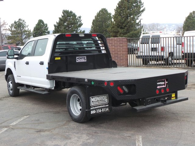 2019 F-350 Crew Cab DRW 4x4,  Freedom Platform Body #KEC71155 - photo 1