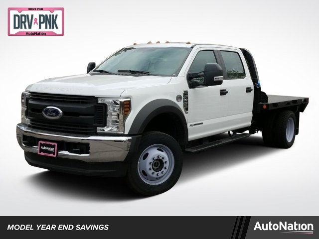 2019 F-450 Crew Cab DRW 4x4,  Freedom Platform Body #KED03036 - photo 1