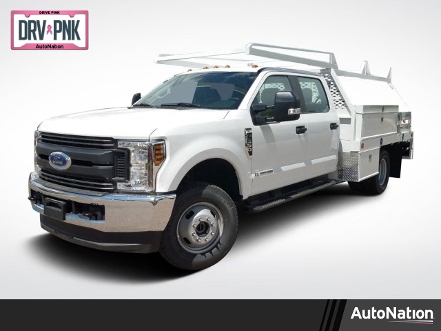 2019 F-350 Crew Cab DRW 4x4,  Scelzi Contractor Body #KED44038 - photo 1