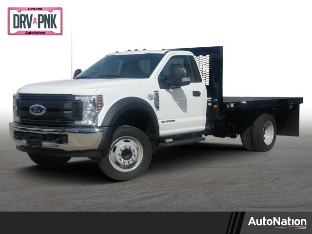 2019 F-550 Regular Cab DRW 4x2,  Knapheide Platform Body #KED48155 - photo 1