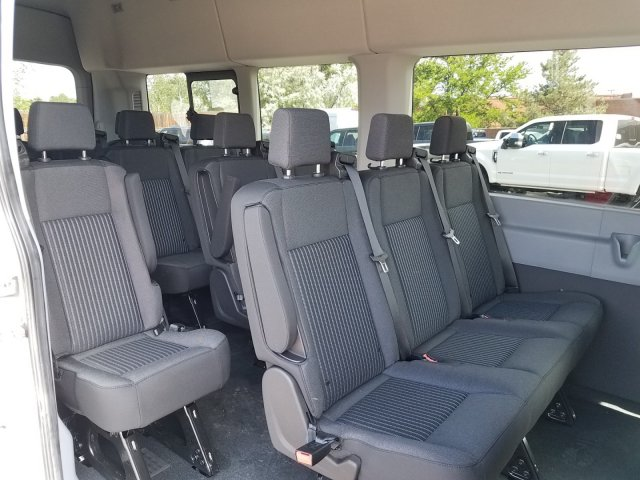2019 Transit 350 HD High Roof DRW 4x2,  Passenger Wagon #KKA92160 - photo 3