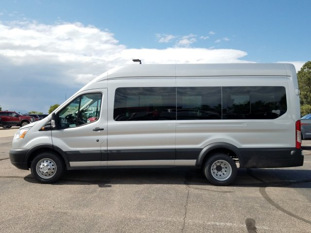 2019 Transit 350 HD High Roof DRW 4x2,  Passenger Wagon #KKA92160 - photo 4