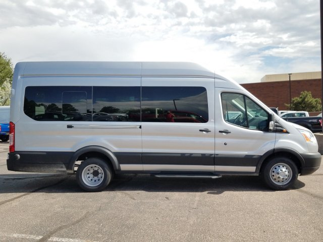 2019 Transit 350 HD High Roof DRW 4x2,  Passenger Wagon #KKA92160 - photo 9