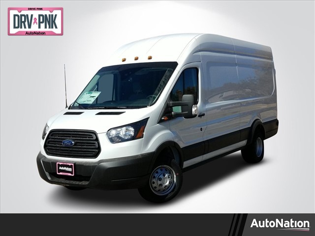 2019 Transit 350 HD High Roof DRW 4x2,  Empty Cargo Van #KKB63828 - photo 1