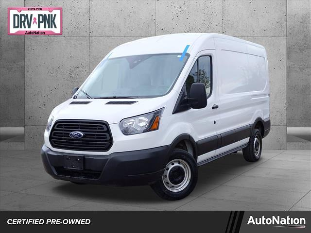 2019 Ford Transit 250 Med Roof 4x2, Empty Cargo Van #KKB65460 - photo 1