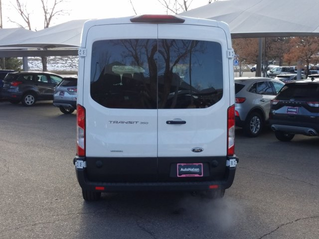 2019 Transit 350 Med Roof 4x2, Passenger Wagon #KKB76512 - photo 12