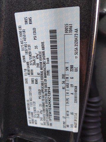 2019 F-150 SuperCrew Cab 4x4,  Pickup #KKC12914 - photo 23