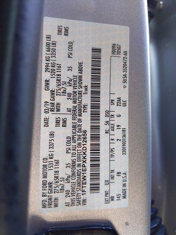 2019 Ford F-150 SuperCrew Cab 4x4, Pickup #KKD12656 - photo 24