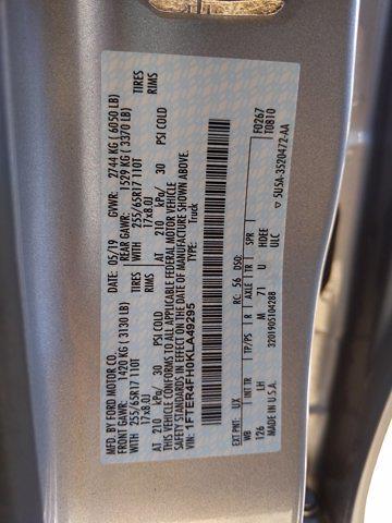 2019 Ford Ranger SuperCrew Cab 4x4, Pickup #KLA49295 - photo 23