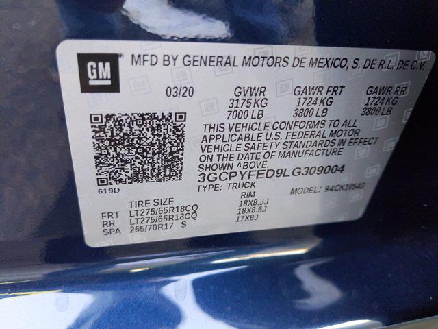 2020 Chevrolet Silverado 1500 Crew Cab 4x4, Pickup #LG309004 - photo 23