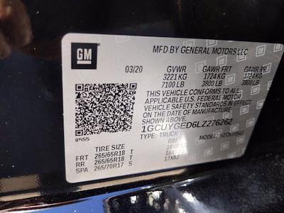 2020 Chevrolet Silverado 1500 Crew Cab 4x4, Pickup #LZ276262 - photo 23