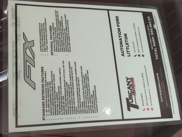 2021 Ford F-150 SuperCrew Cab 4x4, Pickup #MFA42948 - photo 18