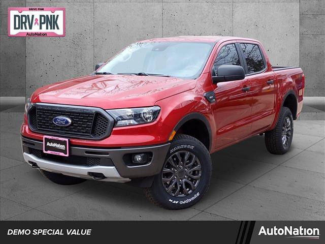 2021 Ford Ranger SuperCrew Cab 4x4, Pickup #MLD17391 - photo 1