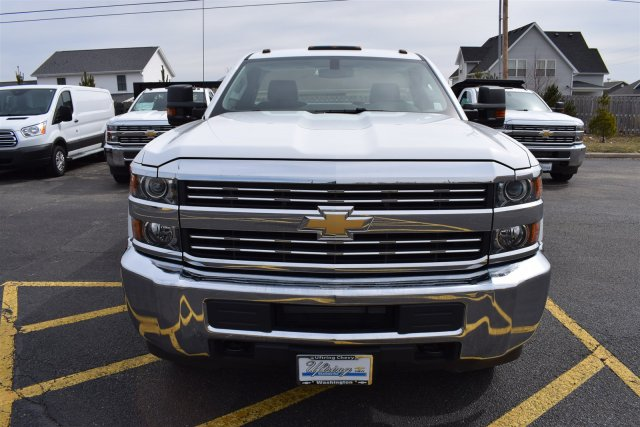 2017 Silverado 3500 Regular Cab DRW 4x4,  Reading Classic II Steel Service Body #1726527 - photo 5