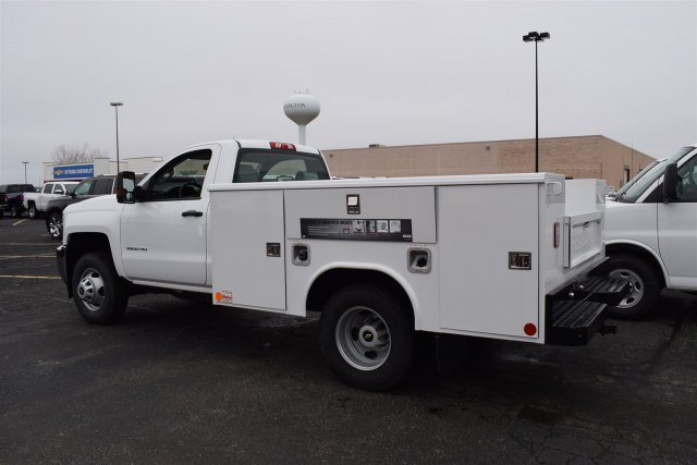 2017 Silverado 3500 Regular Cab DRW, Reading Classic II Steel Service Body #1730812 - photo 2