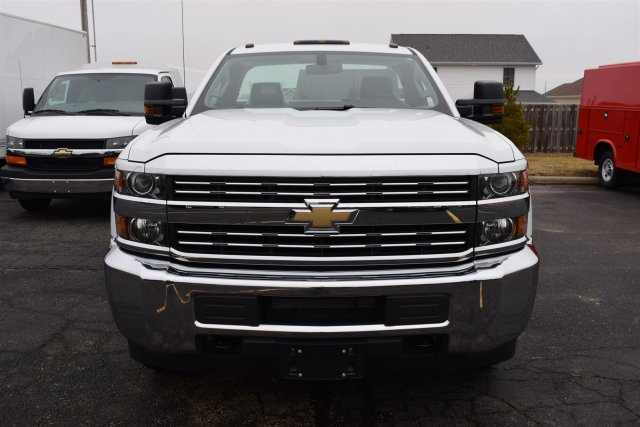 2017 Silverado 3500 Regular Cab DRW, Reading Classic II Steel Service Body #1730812 - photo 6