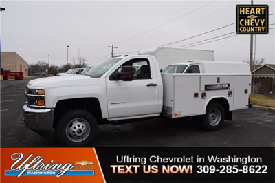 2017 Silverado 3500 Regular Cab DRW, Reading Classic II Steel Service Body #1730812 - photo 1