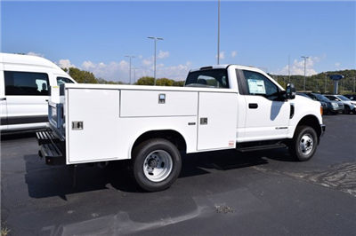 2017 F-350 Regular Cab DRW 4x4, Reading Classic II Steel Service Body #1781131 - photo 2