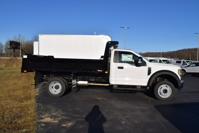 2019 F-450 Regular Cab DRW 4x2,  Rugby Eliminator LP Steel Dump Body #1955671 - photo 4