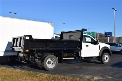 2019 F-450 Regular Cab DRW 4x2,  Rugby Eliminator LP Steel Dump Body #1955671 - photo 2