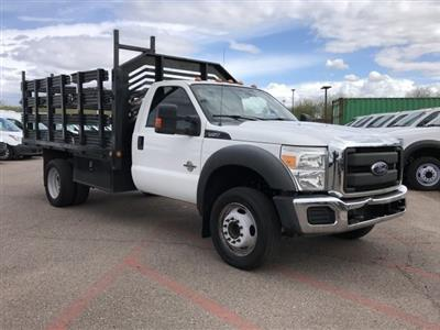 2015 F-450 Regular Cab DRW 4x2, Stake Bed #C187 - photo 1