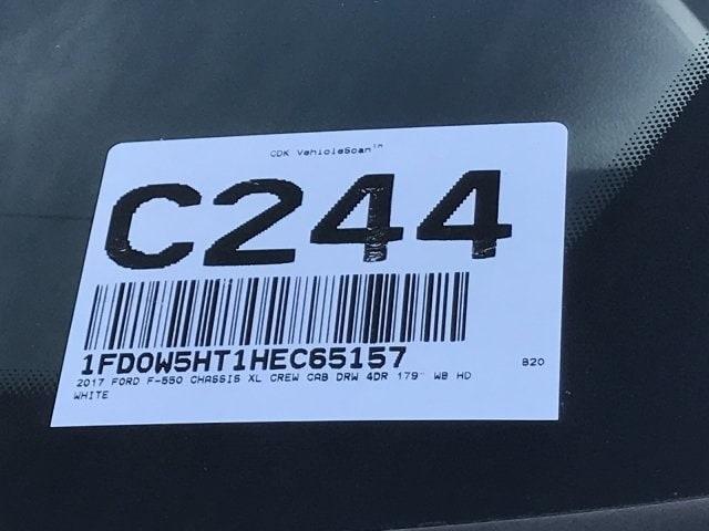2017 F-550 Crew Cab DRW 4x4, Stake Bed #C244 - photo 25