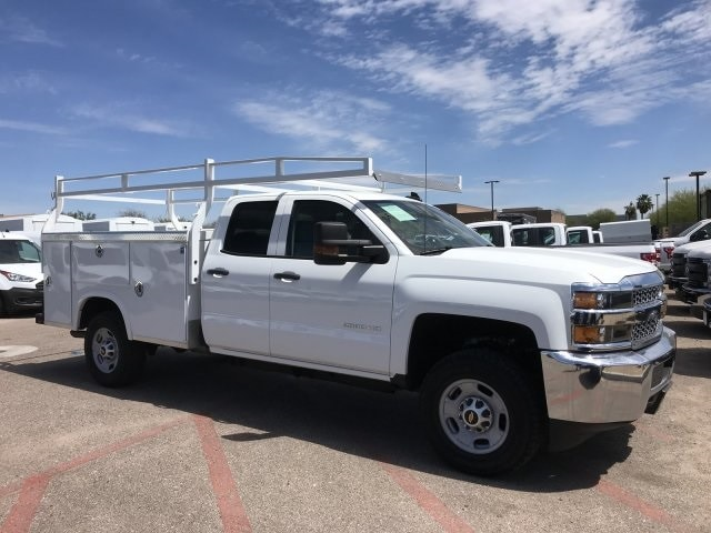 2019 Silverado 2500 Double Cab 4x2, Royal Service Body #C265 - photo 1