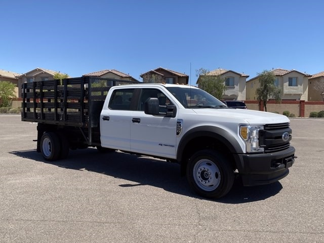 2017 Ford F-550 Crew Cab DRW 4x4, Stake Bed #C289 - photo 1