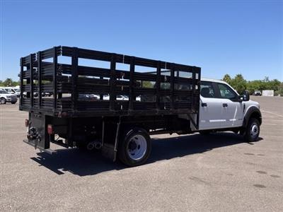 2017 Ford F-550 Crew Cab DRW 4x4, Stake Bed #C289 - photo 2