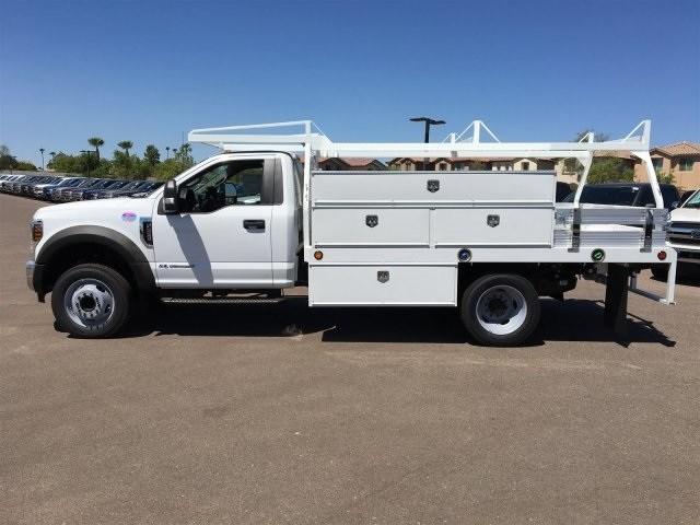 2018 F-550 Regular Cab DRW 4x2,  Scelzi CTFB Contractor Body #JDA04353 - photo 3