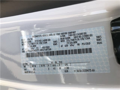 2018 F-450 Regular Cab DRW 4x2,  Scelzi CTFB Contractor Body #JEC14720 - photo 21