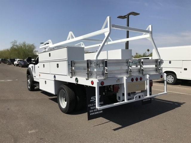 2018 F-450 Regular Cab DRW 4x2,  Scelzi CTFB Contractor Body #JEC21925 - photo 3