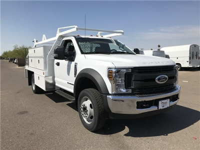 2018 F-450 Regular Cab DRW 4x2,  Scelzi CTFB Contractor Body #JEC21925 - photo 1