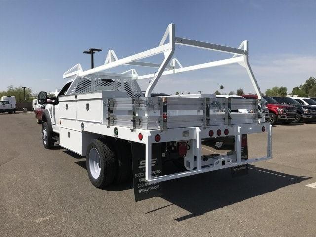 2018 F-450 Regular Cab DRW 4x2,  Scelzi CTFB Contractor Body #JEC49310 - photo 3