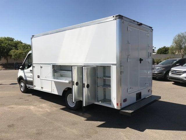 2018 Transit 350 HD DRW 4x2,  Supreme Spartan Service Utility Van #JKA73640 - photo 5