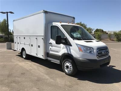 2018 Transit 350 HD DRW 4x2,  Supreme Spartan Service Utility Van #JKA73640 - photo 1