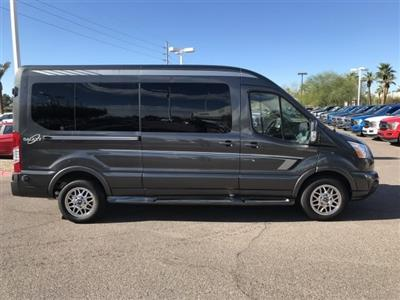 2018 Transit 250 Med Roof 4x2, Waldoch Crafts Passenger Wagon #JKA93261 - photo 7